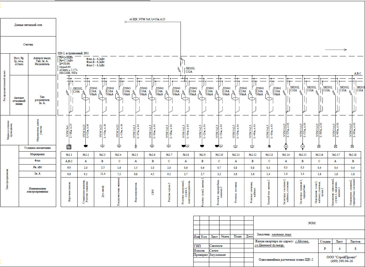 Радиальная схема электроснабжения примеры